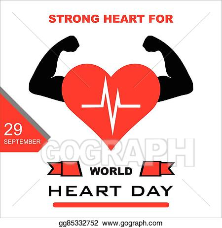 image free stock Vector world day . Lifestyle clipart healthy heart.