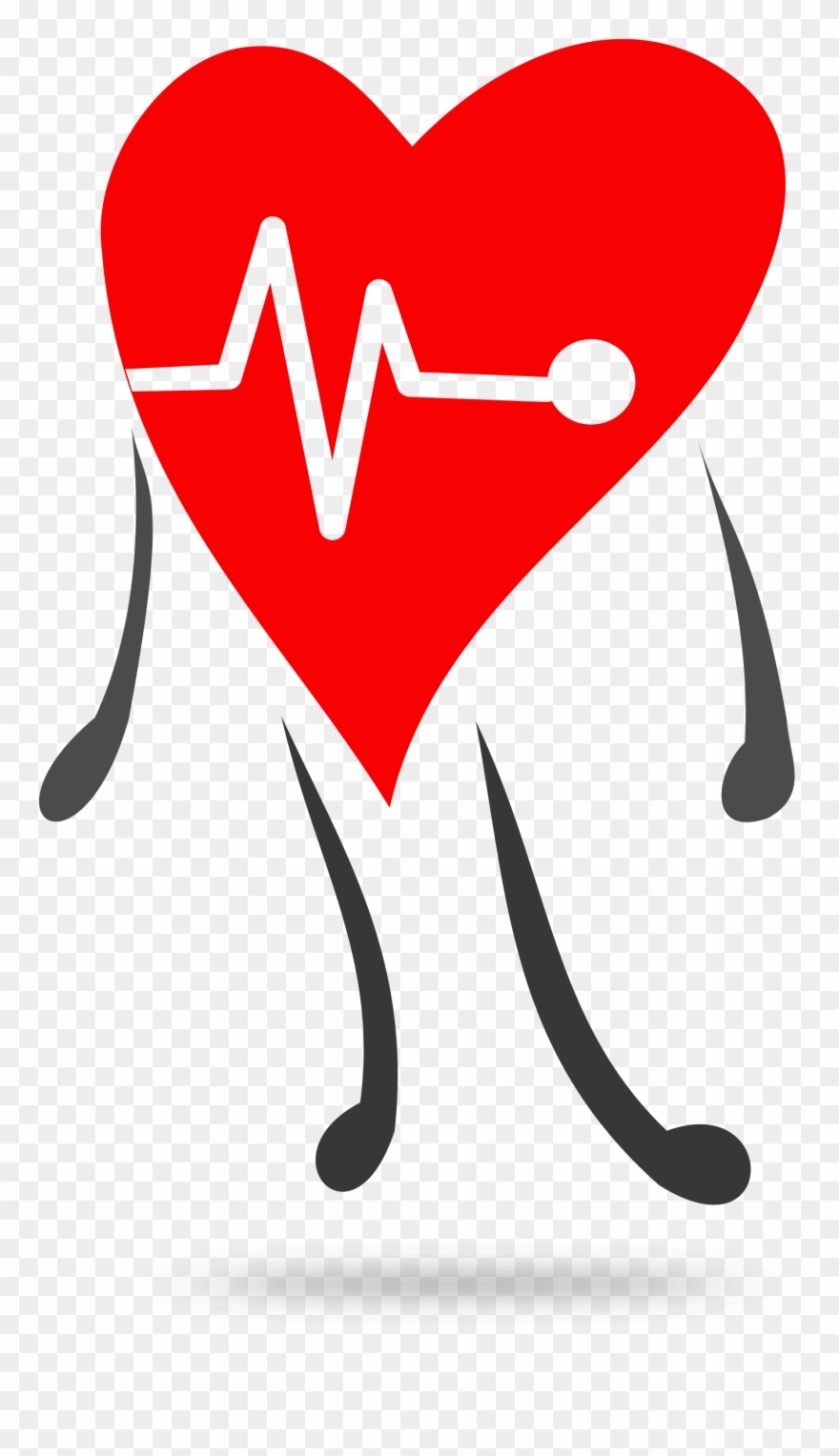 free library Lifestyle clipart healthy heart. Heartbeat health clip art.