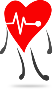 jpg library stock Lifestyle clipart healthy heart. Health free on dumielauxepices.