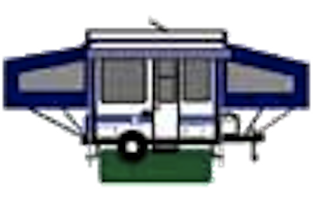 png black and white library Camper Trailer Clipart With Awesome Style