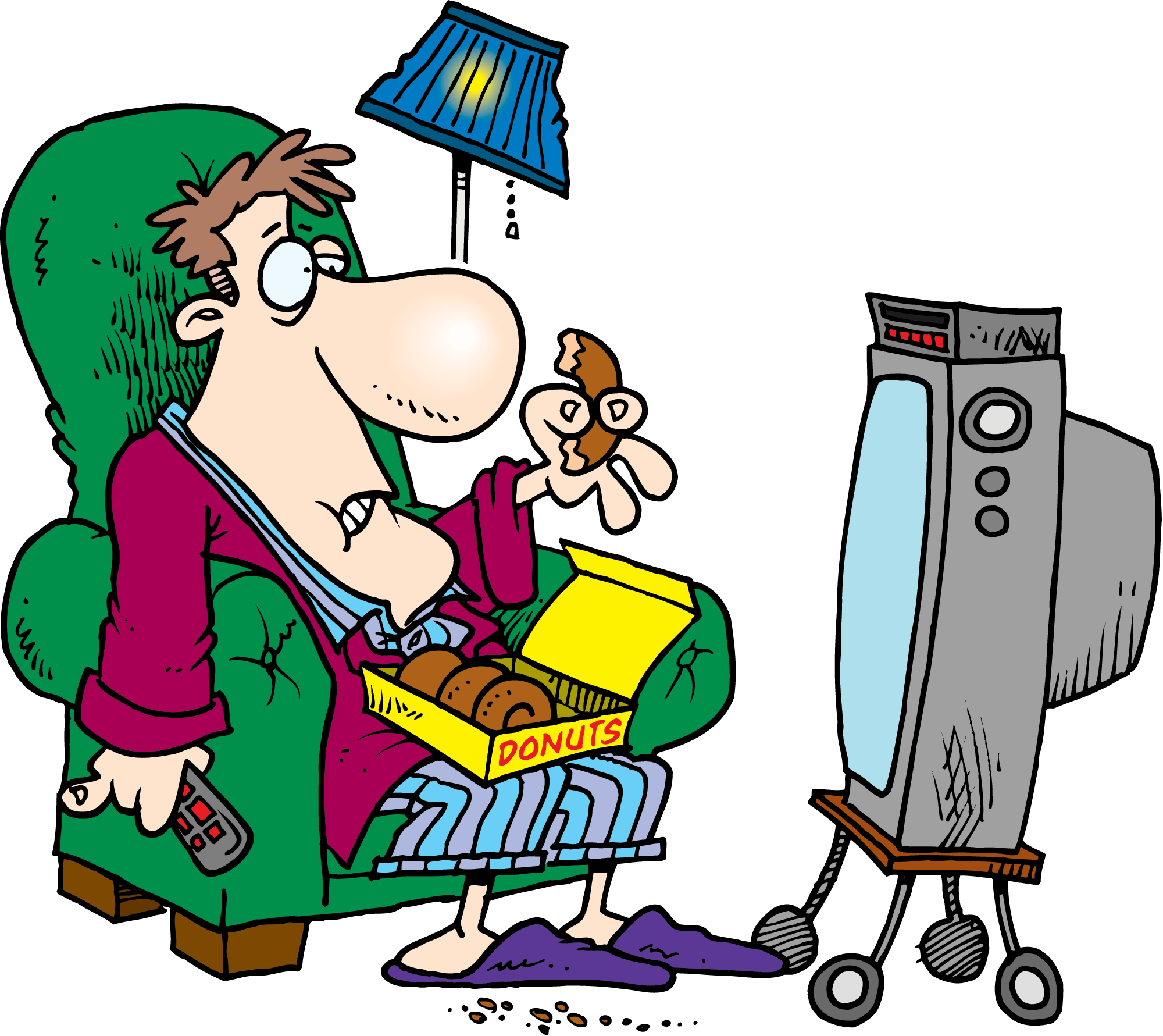 png Sedentary lifestyle clipart