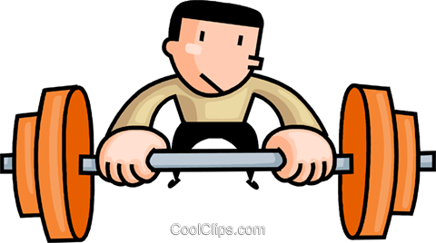 clipart black and white stock Lifting clipart exercise. Weightlifting at getdrawings com.