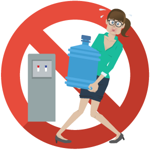 clip art library No bottled water bottleless. Lifting clipart heavy lifting.
