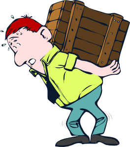 clipart black and white library Crate clip art at. Lifting clipart heavy lifting.