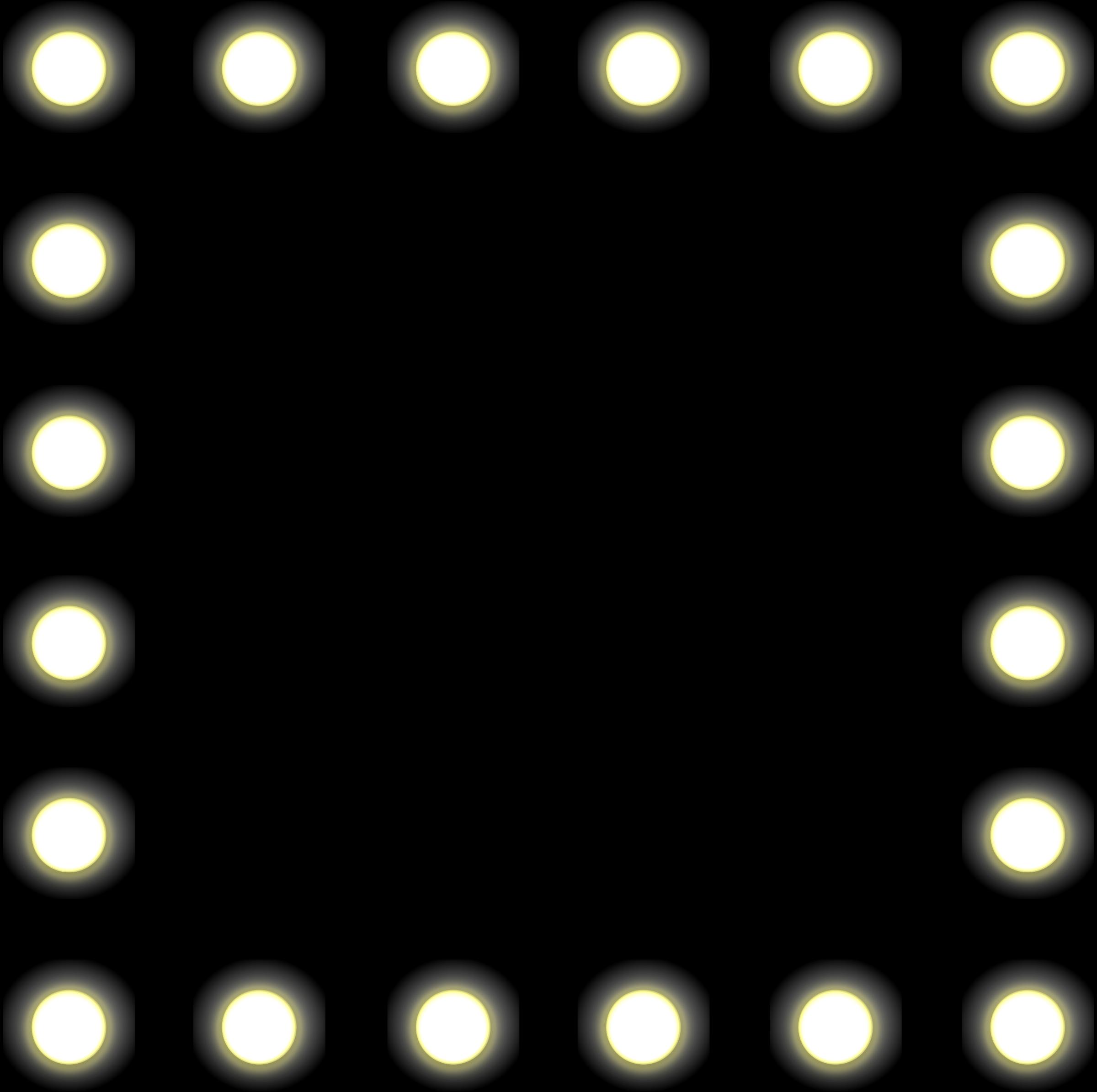 svg black and white stock Light clipart banner. Bulb border clip art.