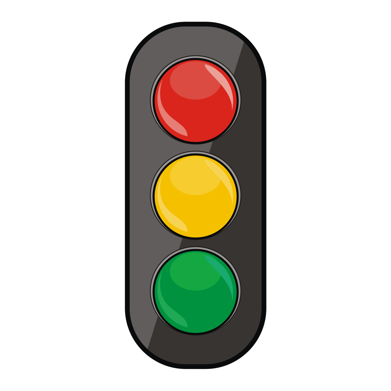 svg black and white stock Traffic light simbol free. Lights clipart bold.