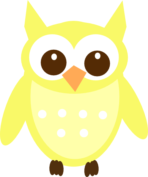image transparent library Owl clip art at. Light clipart yellow.
