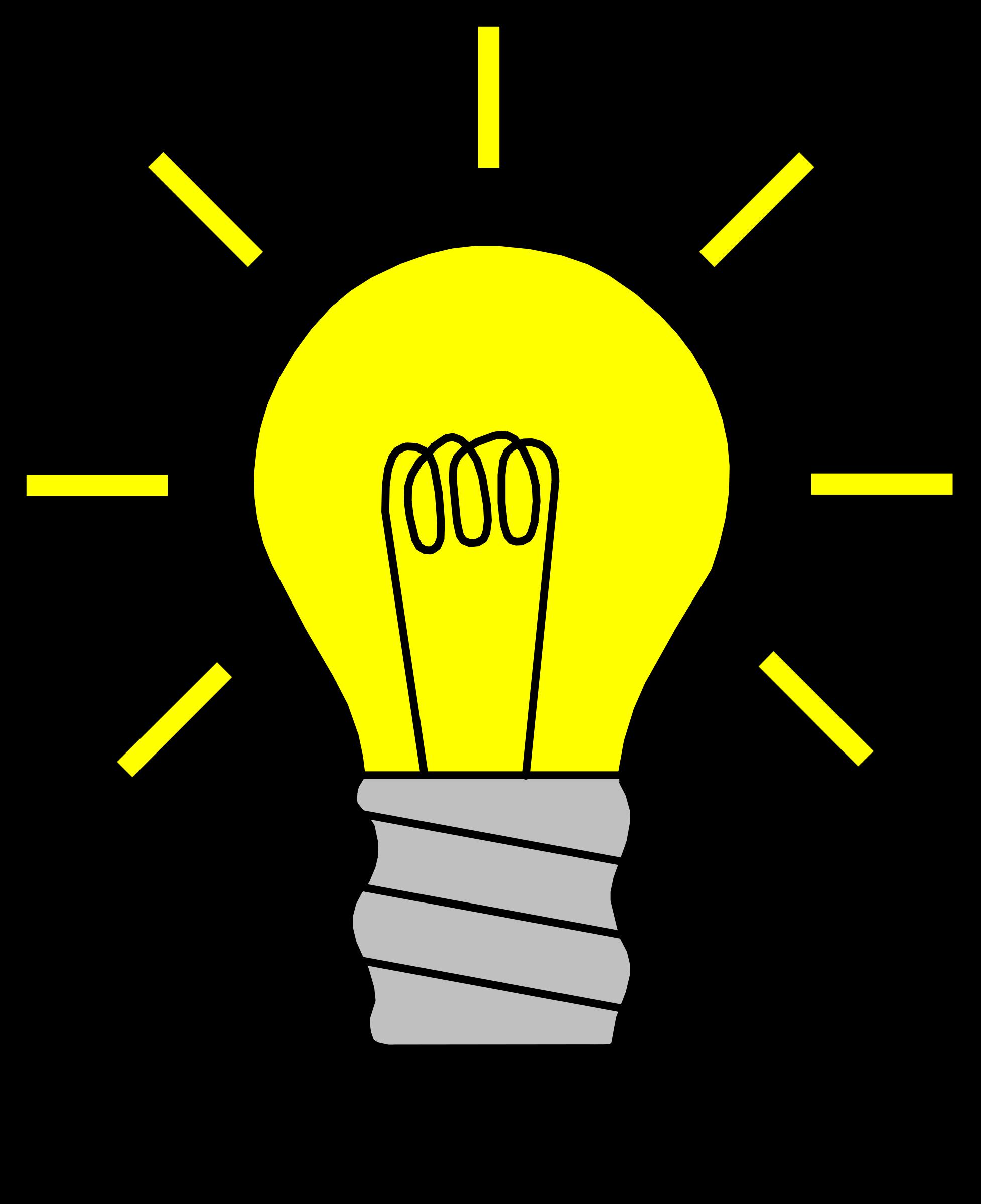 banner royalty free Light bulb clip art. Lights clipart solution