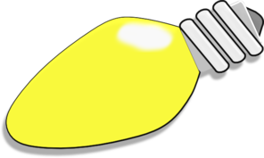 clipart freeuse stock Christmas . Light clipart yellow.
