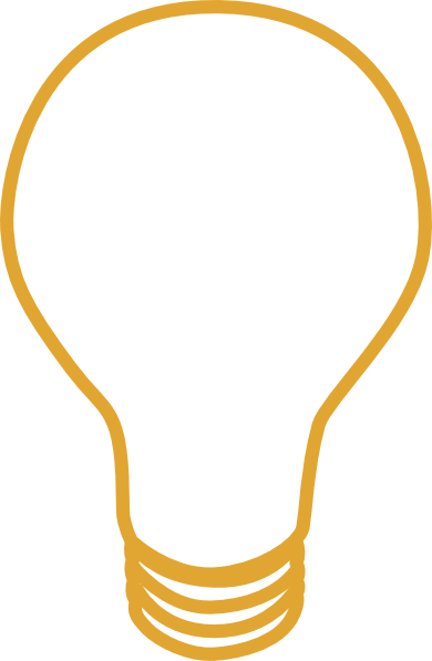 vector library stock Light clipart yellow. Bulb clip art at.