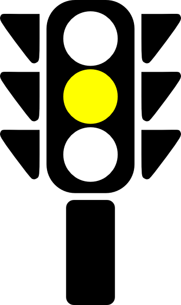 image freeuse stock Stoplight clipart source light. Yellow