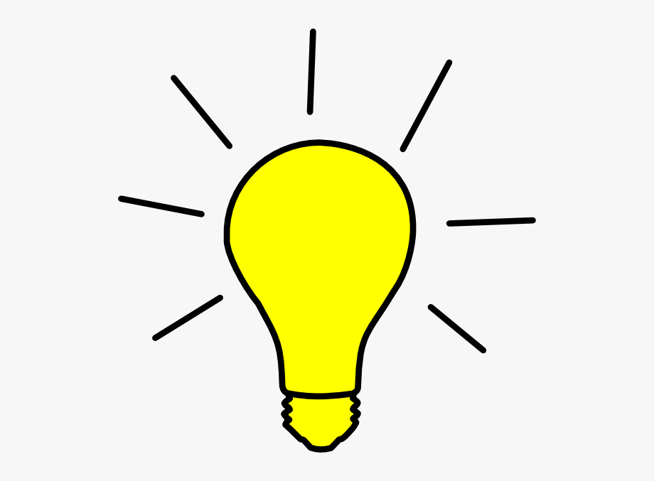picture black and white Lightbulb clipart. Gallery for yellow light
