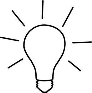 graphic freeuse library Thought clipart lightbulb. Light bulb idea clip