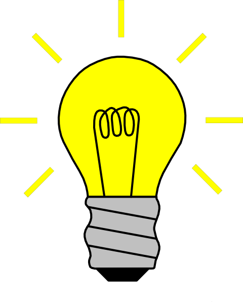 svg library download Lightbulb clipart ah ha moment. The top best blogs.