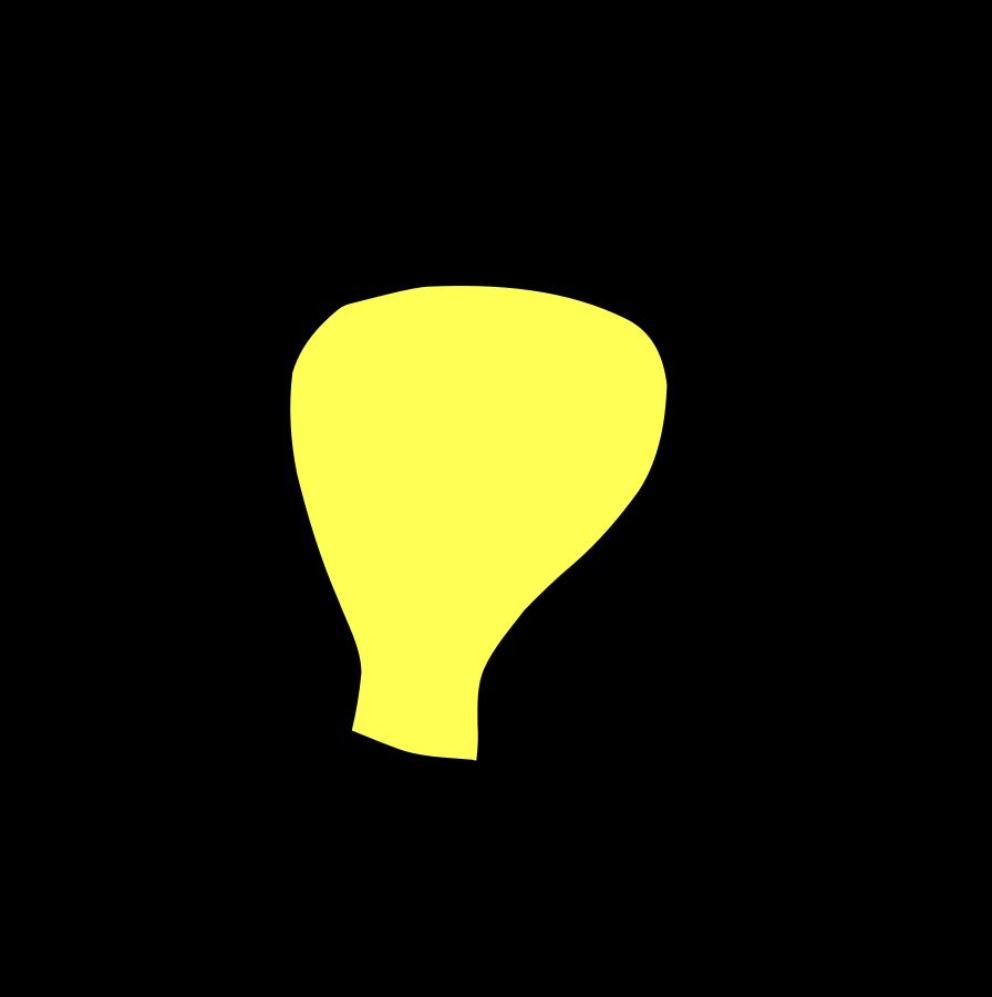 royalty free  cool light outline. Bulb clipart ligh