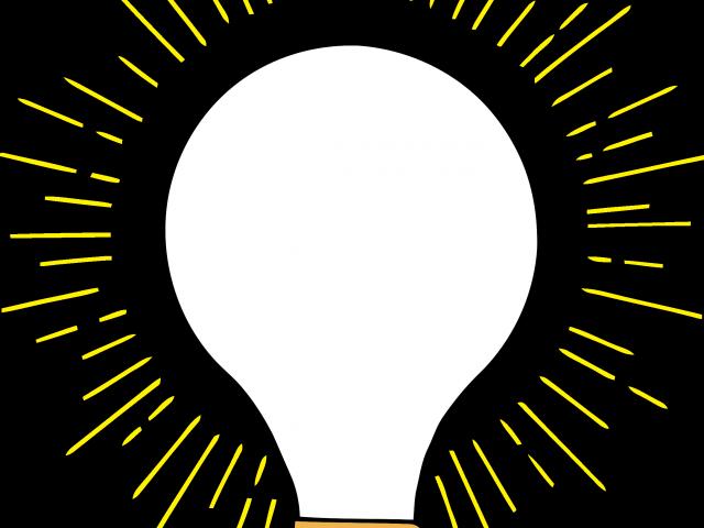 svg freeuse download Lightbulb clipart ancestor. Light bulb retro free.