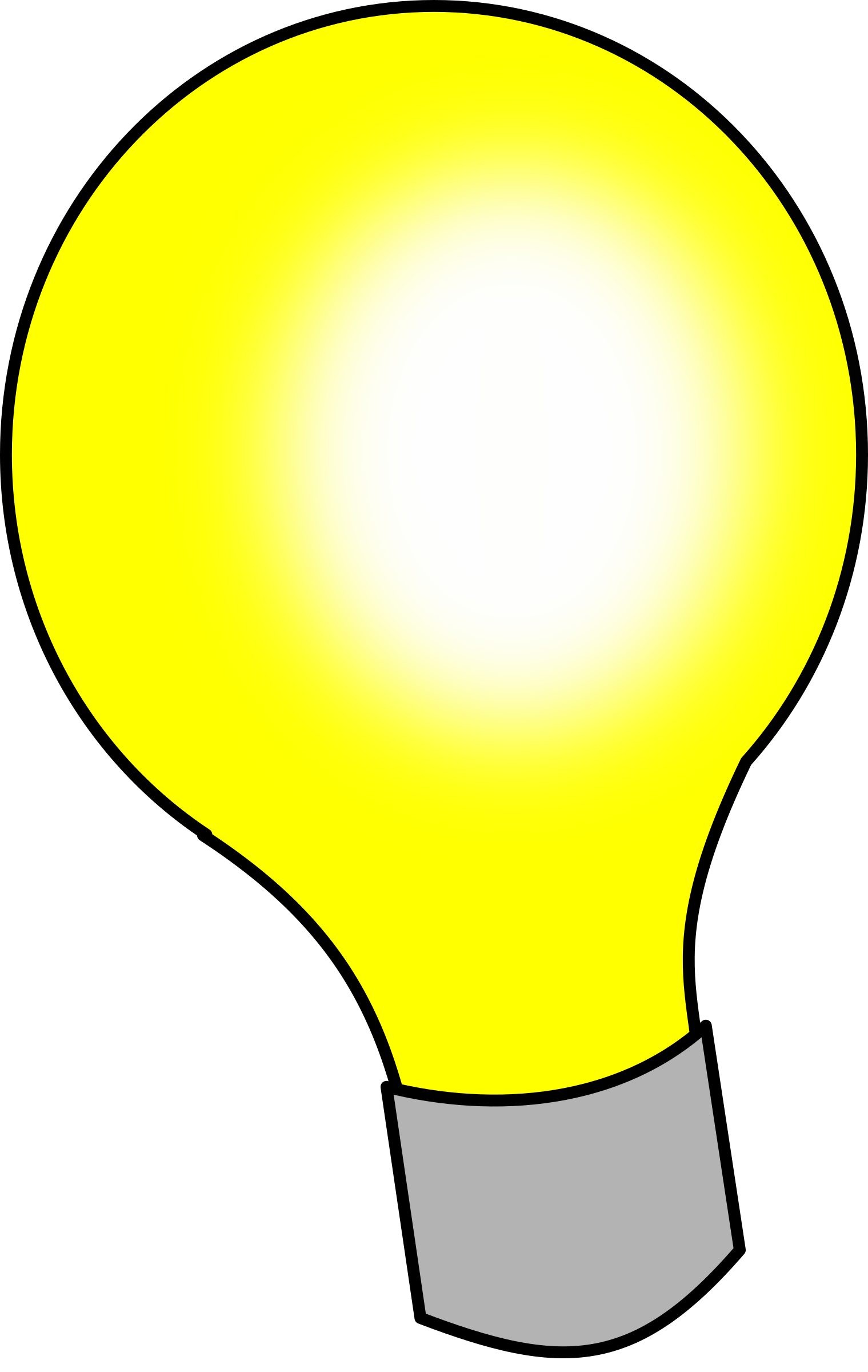 vector freeuse Bulb clipart electric bulb. Light big image png