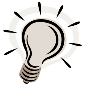 banner library Lightbulb clipart brilliant idea. Original free question mark.