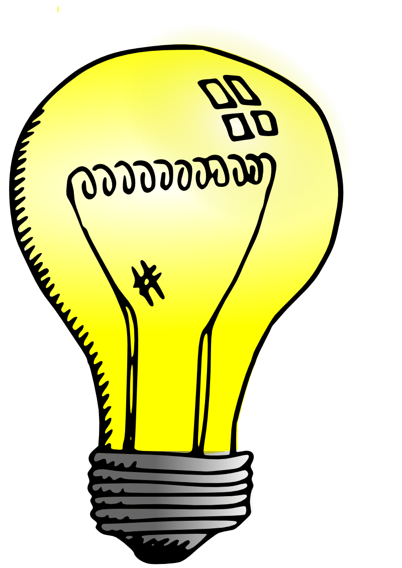 graphic royalty free Light Bulb Drawing transparent PNG