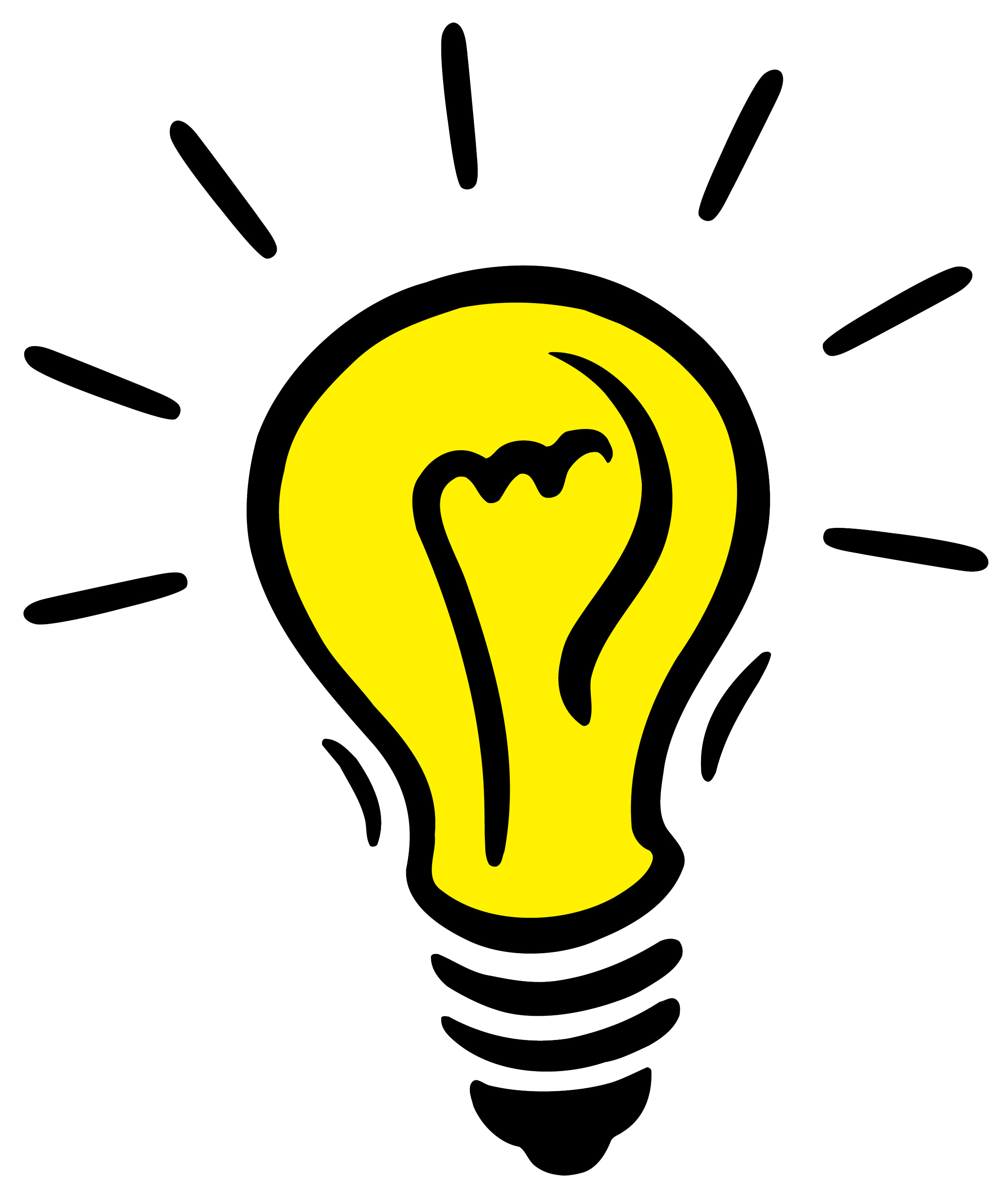 clip art royalty free download Bulb clipart lightning.  collection of lightbulb