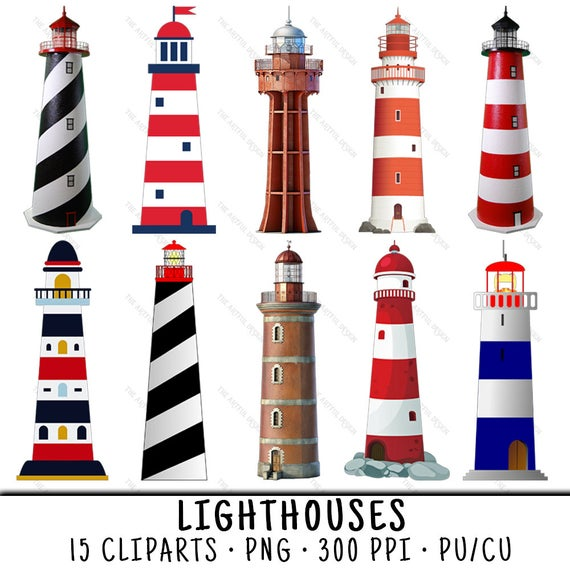 picture Light house clip art. Lighthouse clipart.