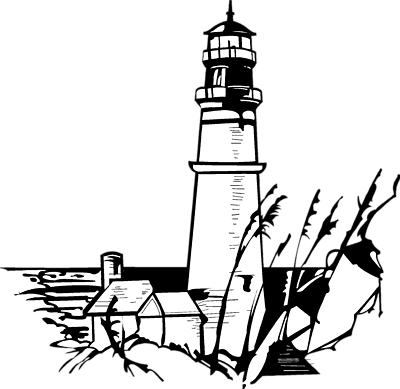 clip art free library Lighthouse Drawing at GetDrawings