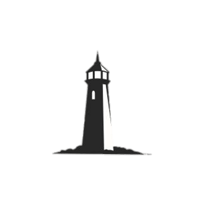 free Lighthouse clipart black and white. Lighthouses transparent png images