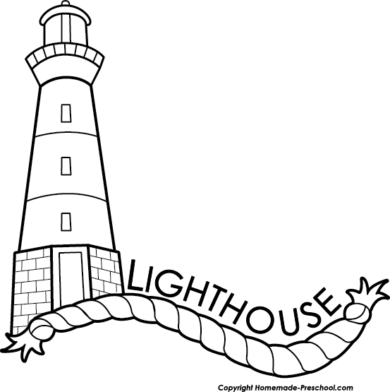graphic library download Lighthouse clipart black and white. Free image