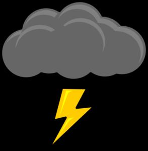 banner free Bolt clip art panda. Thunder clipart lightning strike
