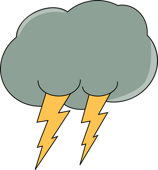 clip black and white download Dark lightning cloud clip. Showering clipart bad weather
