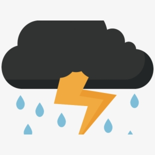 clip art library library Thunder and . Lighting clipart lightning cloud