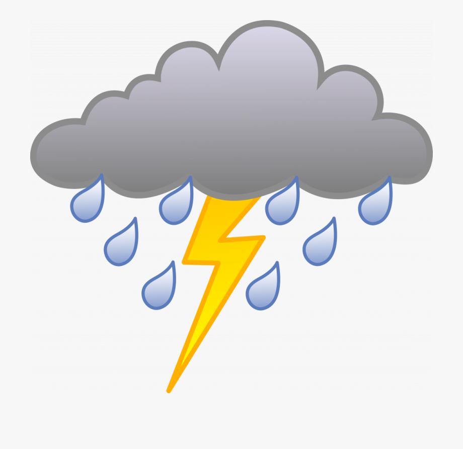 transparent stock Unique storm rain with. Lighting clipart lightning cloud