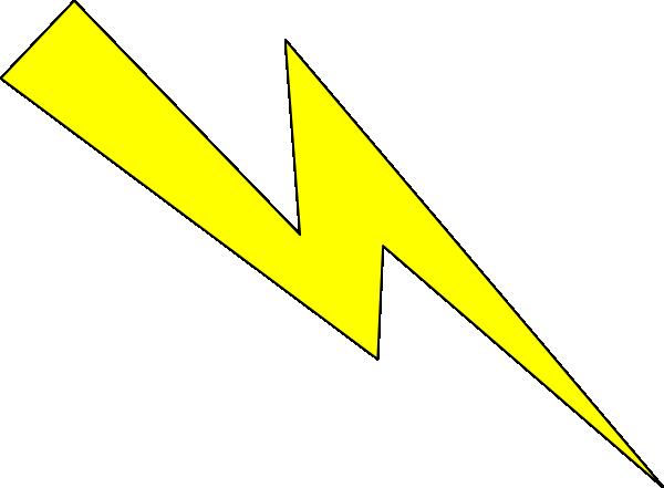 banner transparent Lighting clipart lightning rod. Bolt democraciaejustica yellow with.