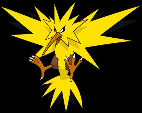 clip royalty free Lightening Clipart pokemon