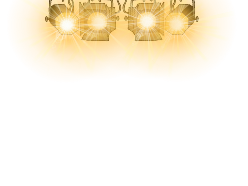 vector free library Lighting clipart theatre light. Stage lights png by.