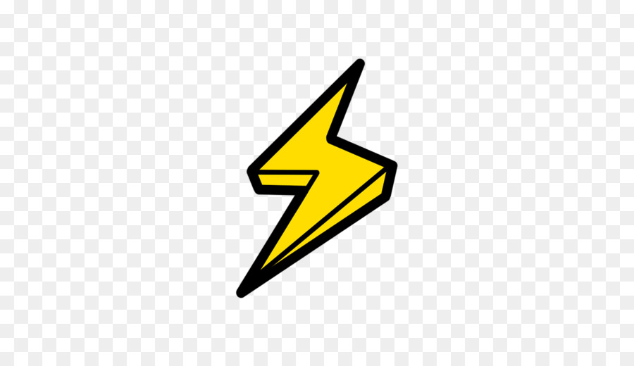 image freeuse library Cartoon technology triangle . Lightning clipart.