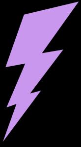 clip transparent Clip art images purple. Lightning clipart.