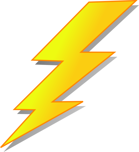 vector library library Clip art at clker. Lightning clipart.