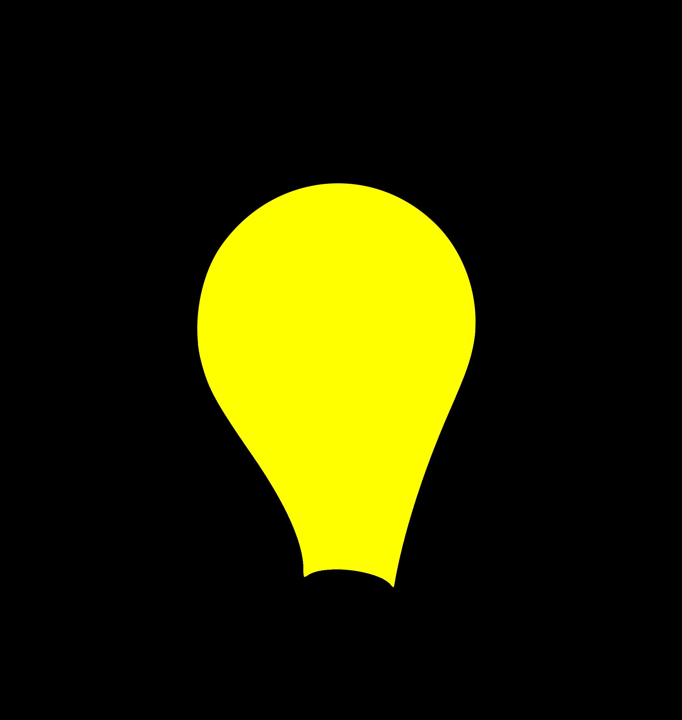 svg library Light on clipground lightbulb. Lights clipart bold.
