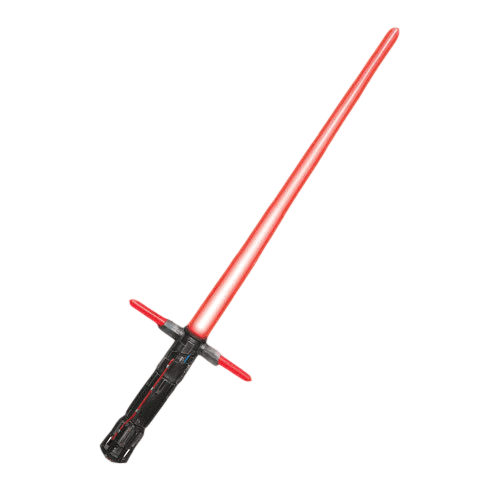 svg freeuse stock Kylo ren red transparent. Lightsaber clipart.