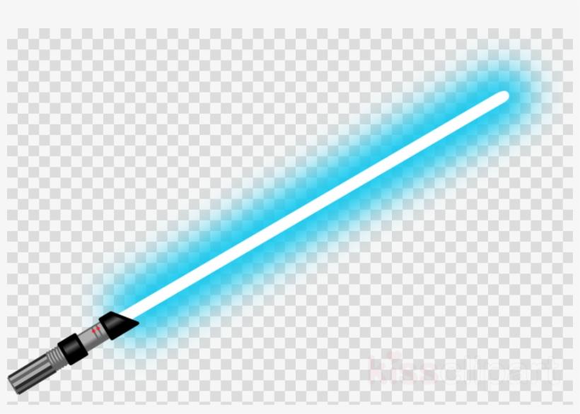 royalty free Lightsaber clipart light saber. Blue png obi wan.