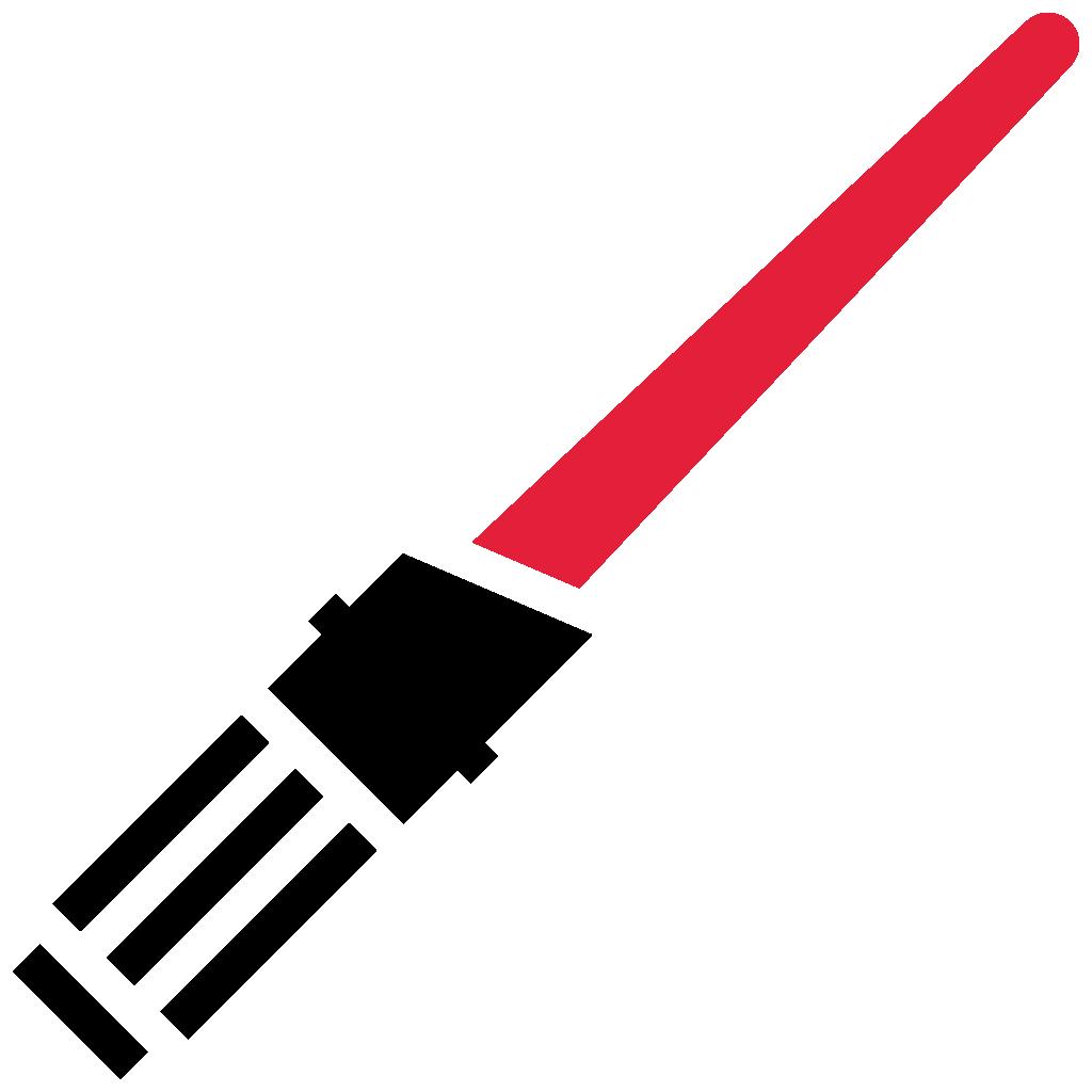 clipart transparent download Lightsaber clipart lightsaber darth vader. Risultati immagini per rossa.