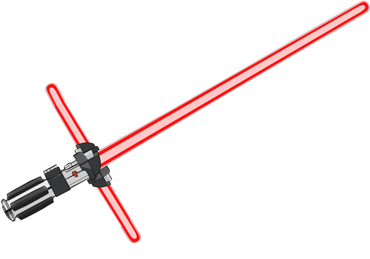 graphic black and white download Lightsaber clipart red.  for free download.