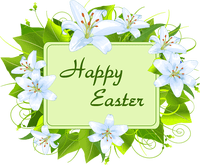 image free Religious happy merry christmas. Lily clipart easter sunday.