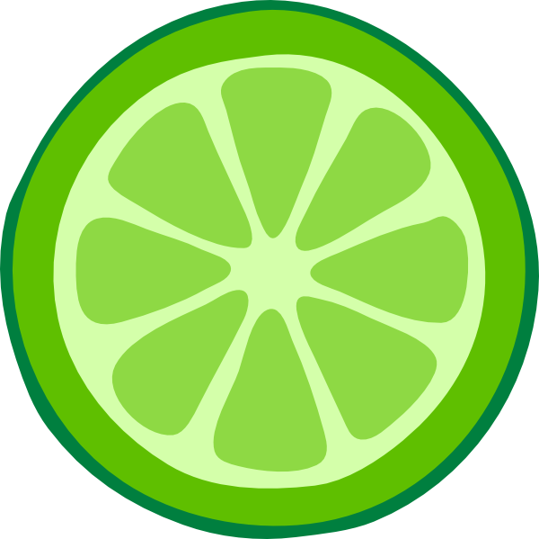 vector royalty free library Lime clipart. Slice clip art at.
