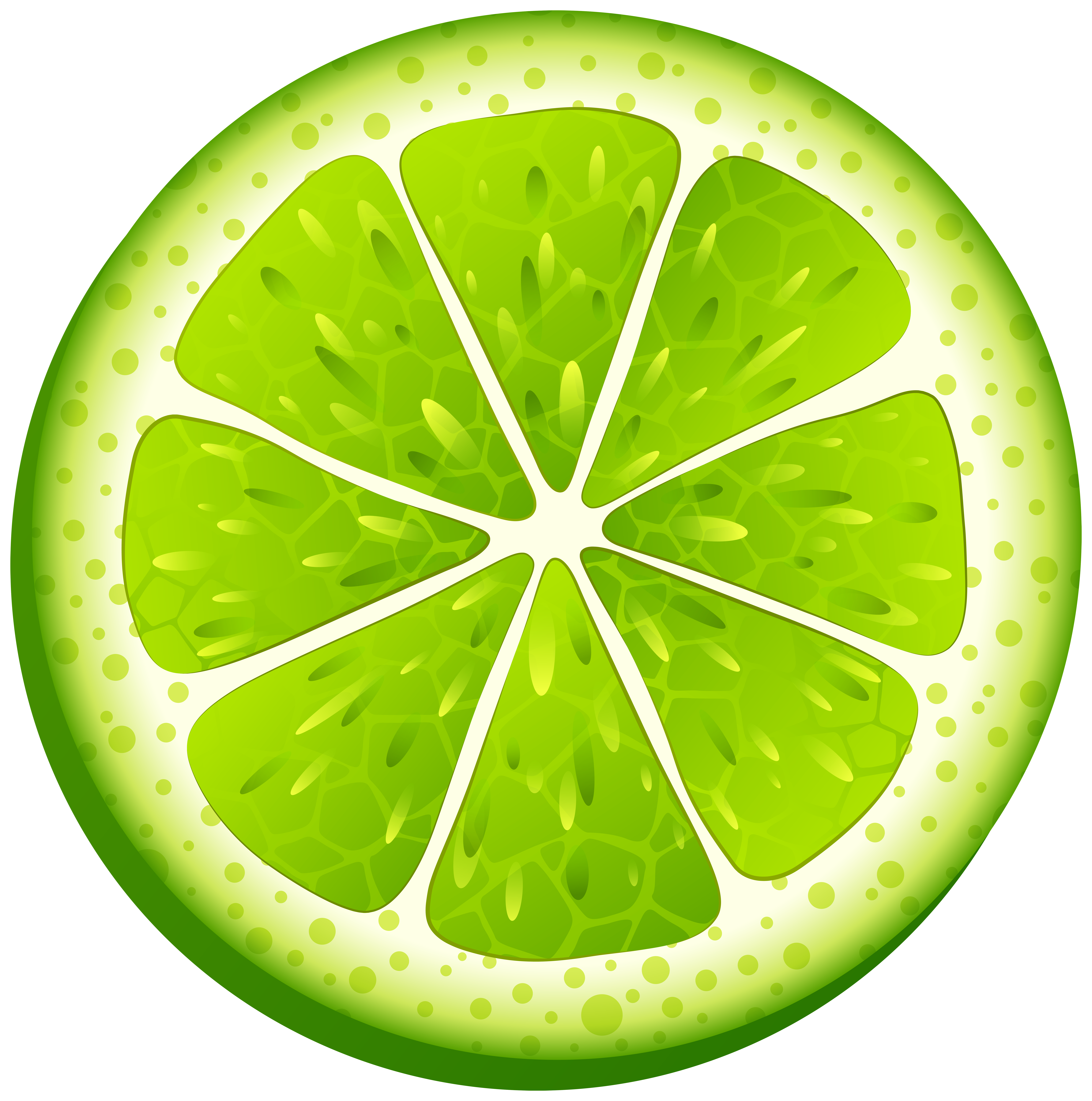 graphic library Png clip art transparent. Lime clipart circle.