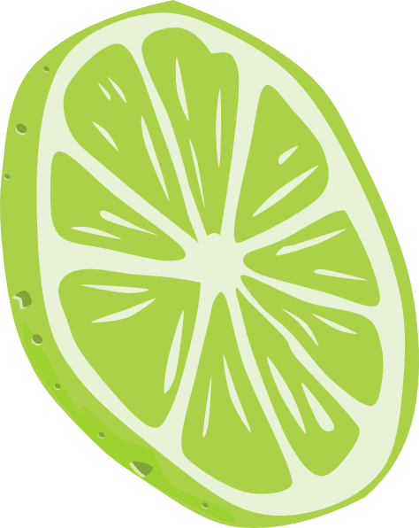 clip freeuse stock Clip art at clker. Lime slice clipart.