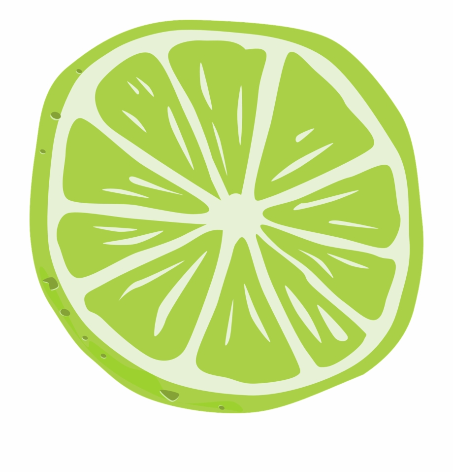 vector black and white Lemon green juicy png. Lime slice clipart.