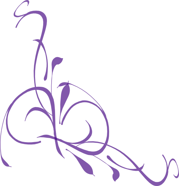 svg freeuse Purple Swirl Lines Clipart