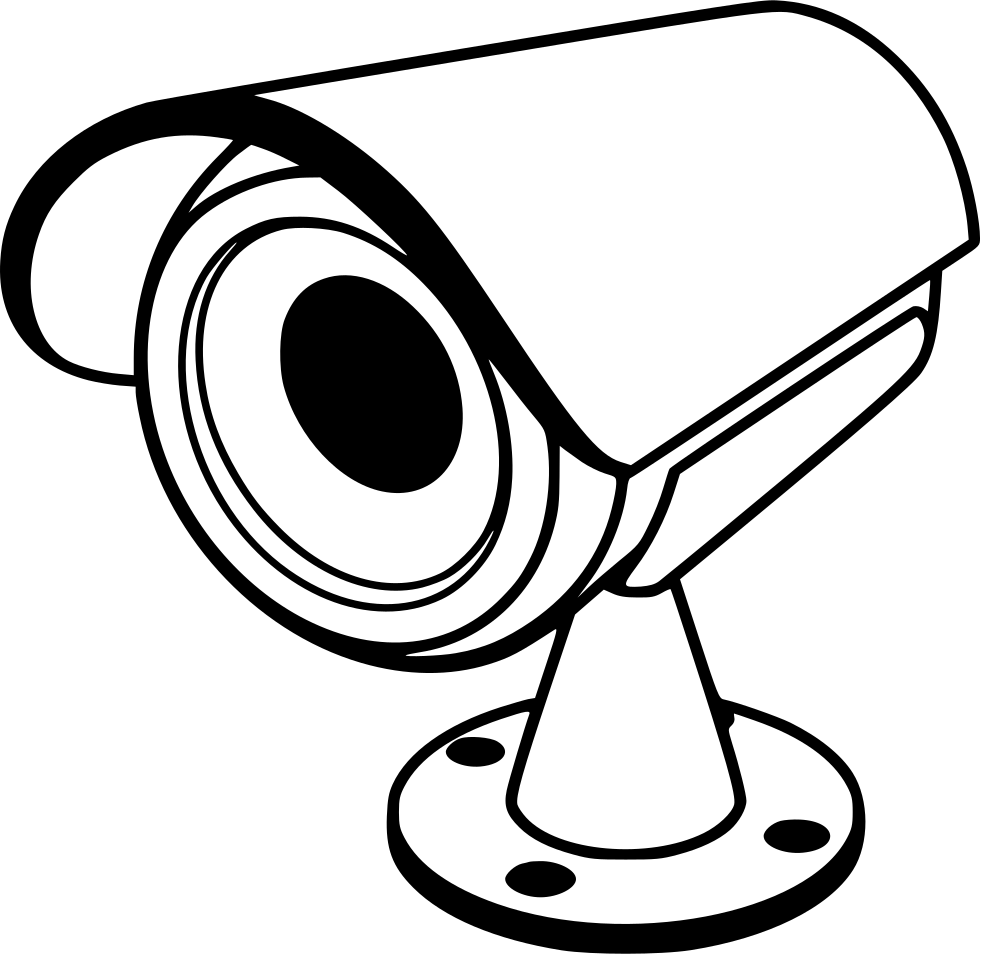 image black and white Camera Line Drawing Clip Art at GetDrawings